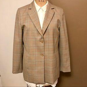 Pendleton Women's Blazer in soft neutrals - sz 10